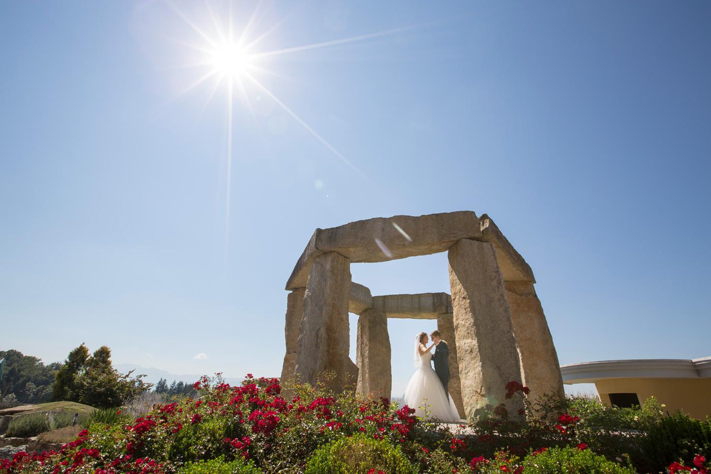 Hochzeit Feichthub Heiraten Im Stonehenge Garden